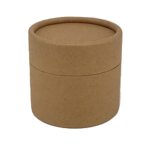 Nutley's 200ml Cardboard Pots Waterproof Lining Cosmetics Body Butter Soaps Biodegradable