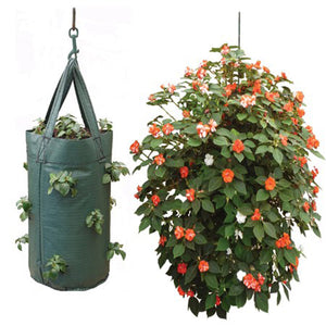 Hanging Tomato Planter Bag Pouch Growbag grow fruit strawberries herbs flowers