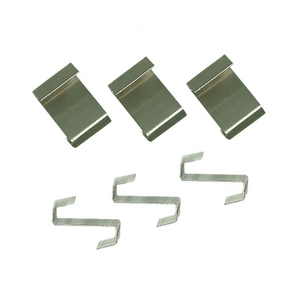 Nutley's Pack 25 Lap Clips for Greenhouse Glass Panes