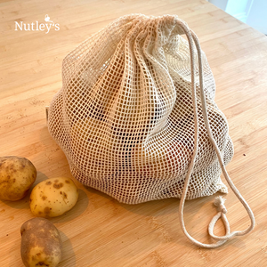 Nutley's Cotton Vegetable Mesh Bags MultiPack