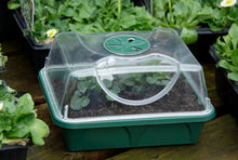 Load image into Gallery viewer, Nutley's Seed Propagator small made in UK shatterproof high vented lid Early Grow