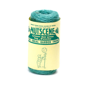 Nutscene Heritage Jute Twine String 13m Spool Aqua Black Blue Brown Gold Green Lime Natural Orange Pink Purple Red