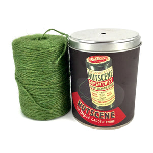 Authentic Nutscene Retro Tin O' Twine: 150m of finest quality jute string