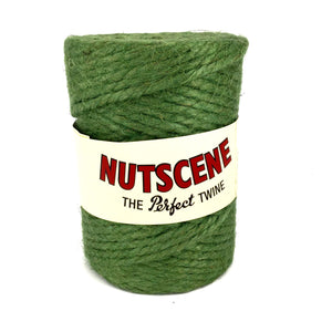 90m Nutscene thick chunky garden twine string 100% hessian jute 3 colours Red Green Natural