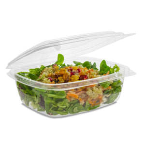 Nutley's Clear Biodegradable Deli Food Storage Boxes Containers PLA 16oz