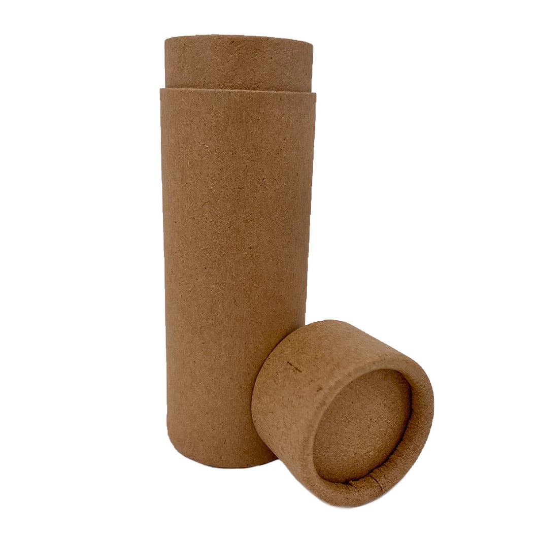 Nutley's 100ml Cardboard Deodorant Tubes Eco Friendly Cosmetic Fragrance Natural Recyclable Biodegradable