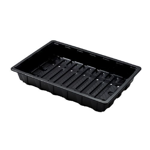 Nutley's Full-Size Standard Seed Trays recycled plastic, with drainage holes