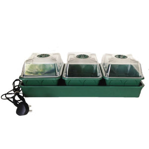 Nutley's electric heated propagator windowsill self-watering MPL seeds cuttings