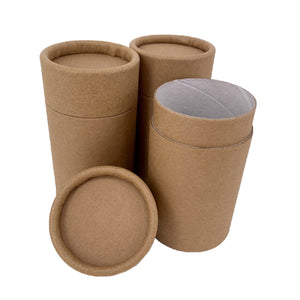 Nutley's 140ml Plastic Free Cardboard Cosmetic Tubes Balms Compostable 5oz