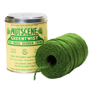 Authentic Nutscene Tin O' Twine Jute String 150m Black Lilac Red Blue Natural Green