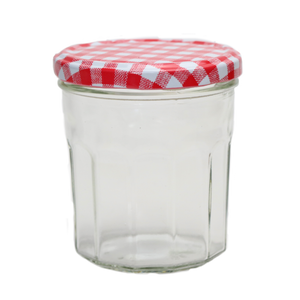 Nutley's 324ml Wide Mouth Bonne Maman Jars with Red Gingham Lids