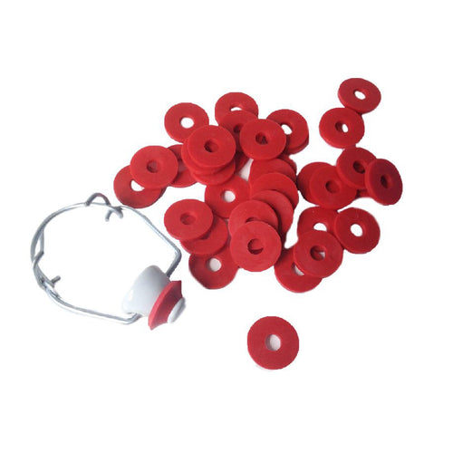 Replacement red seals swing-top flip-top bottle stoppers washers home brew