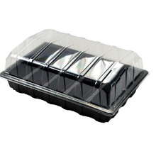 Load image into Gallery viewer, Nutley's Full-Size Seed Propagator Set: Seed Tray, 5-Cell Insert, Lid