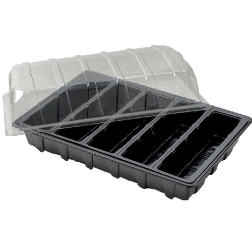 Nutley's Full-Size Seed Propagator Set: Seed Tray, 5-Cell Insert, Lid