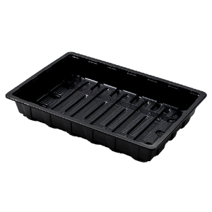 Nutley's Full-Size Standard Seed Trays recycled plastic without drainage