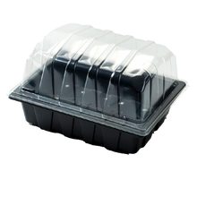 Load image into Gallery viewer, Nutley's Half-Size Propagator Sets with Drainage Holes and Clear Lid