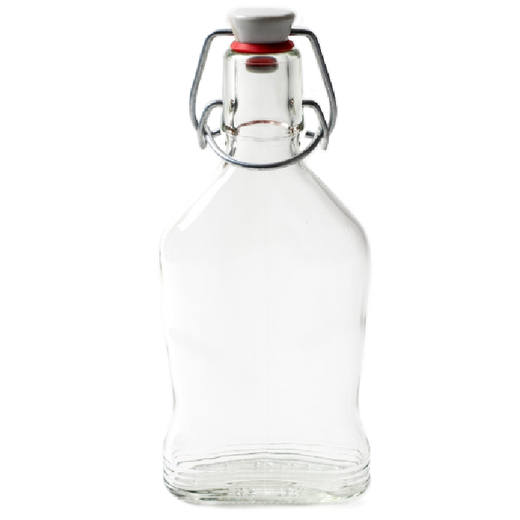 Nutley's 200ml Glass Bottle with Ceramic Swing Stopper