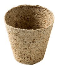 Load image into Gallery viewer, Nutley's 8cm Round Jiffy Peat-Free Fibre Plant Pot