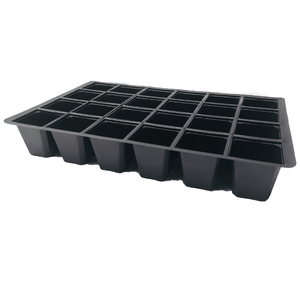 Nutley's 24 Cell Seed Tray Cavity Inserts UK made 100% recycled plastic