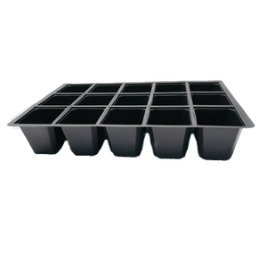 Nutley's 15 Cell Seed Tray Cavity Inserts UK made 100% recycled plastic