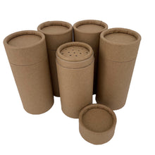 Load image into Gallery viewer, 	Nutley's 100ml Cardboard Powder Shaker Tubes Plastic Free Compostable