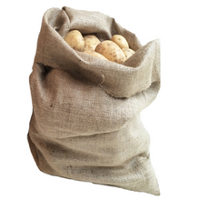 Load image into Gallery viewer, Nutley's Extra Large Hessian Potato Sack Bag storage onions root veg sack race 66 x 115cm