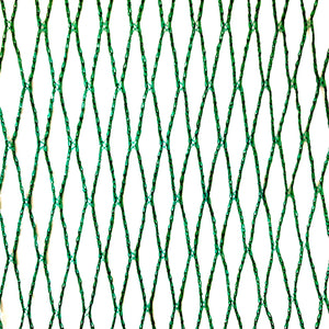Nutley's 2m Wide Green Woven Bird Netting Lightweight Strong Pond Fruit Cages UV Resistant