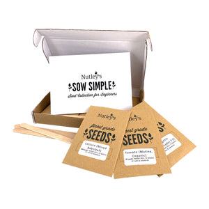 Nutley's Sow Simple Beginner's Seed Collection (Contents)