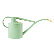 Load image into Gallery viewer, Haws 2 Pints Rowley Ripple Metal Watering Can Steel Indoor Use Rose Included - Sage Green [165-2-SAG]