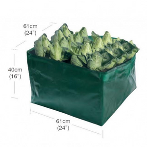 Garland Vegetable Growbag with dimensions