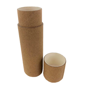 Nutley's Cardboard Lip Balm Lipstick Tubes Biodegradable Natural Recyclable 1/2 oz 14ml