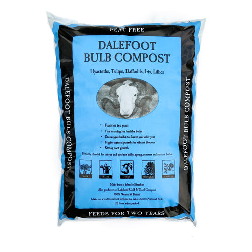 Dalefoot Bulb Compost Feeds for 2 Years All Season Bulbs 100% Peat Free