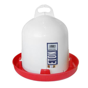Eton robust 6-litre Trent poultry drinker chickens hens birds heavy-duty