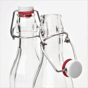 Nutley's 250ml Fluted Bottle with Ceramic Swing Stopper