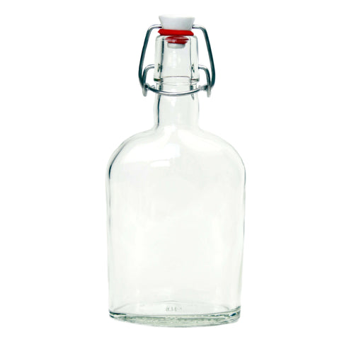 Nutley's 350ml Glass Spirit Bottle with Ceramic Swing Stopper