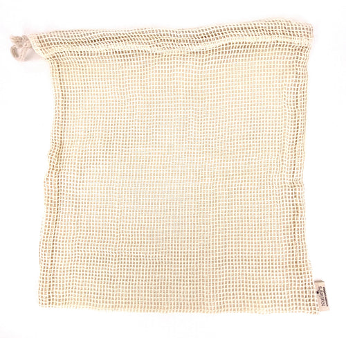 Nutley's Large Cotton Vegetable Mesh Bag