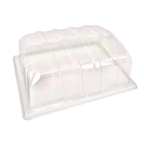 Nutley's Clear Plastic Half Size Seed Propagator Lids