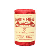 Load image into Gallery viewer, 120m Nutscene Jute Twine Rolls Heritage Spool 3-Ply Tangle Free Black Blue Brown Green Red Lilac Natural Orange