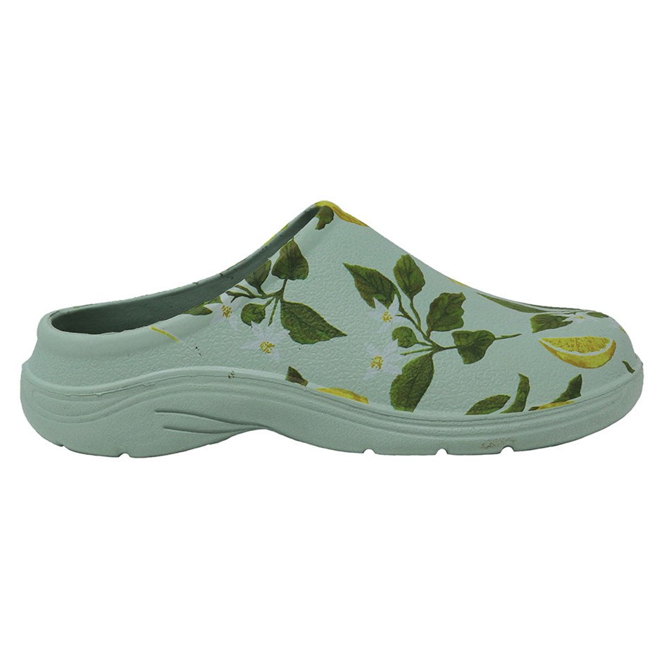 Briers Sicilian Lemon Women's Lightweight Water and Slip-Resistant Garden Clogs Sicilian Lemon Size 4 Size 5 Size 6 Size 7