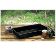Load image into Gallery viewer, Garland Black Titan Tray Garden Outdoors Pots