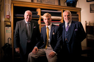 A Bespoke Tailored Suit by Denman & Goddard