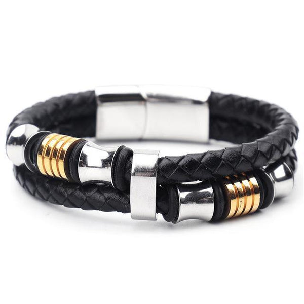 The Precisely Leather Bracelet - tanabracelet