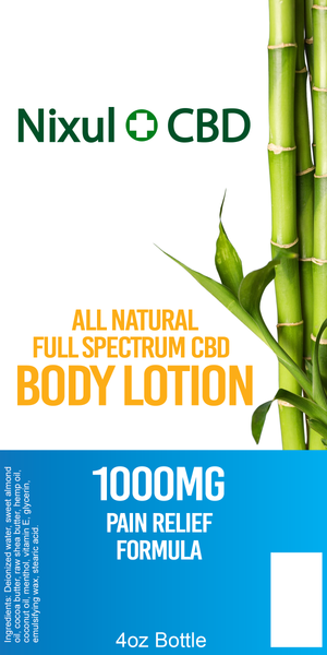 CBD Pain Relief Lotion – 1000mg