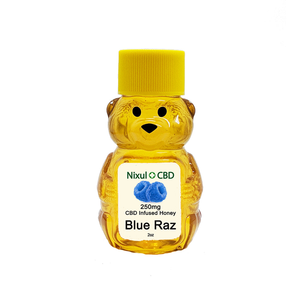 CBD Honey 250mg - Blue Raz
