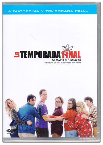 La Teoria del Big Bang Temporada 12 Final DVD