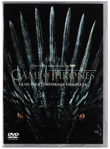Game Of Thrones Temporada 8 DVD