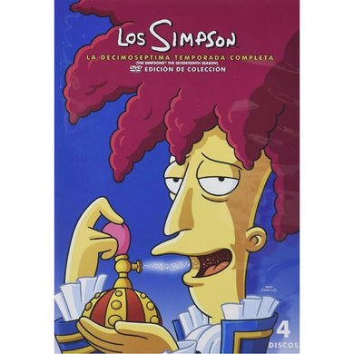 Los Simpson Temporada 17 DVD