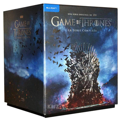 Game Of Thrones Serie Completa Temporada 1-8 Blu-ray