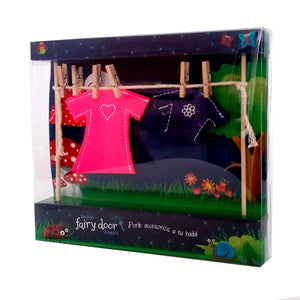 Mini Tendedero Para Niñas Hadas - The Irish Fairy Door
