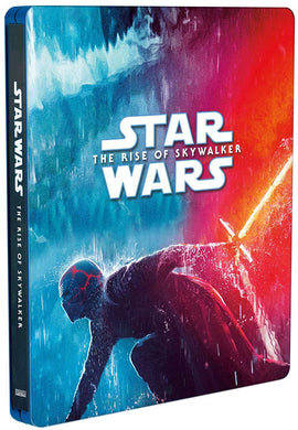 Star Wars Episodio 9 El Ascenso de Skywalker Steelbook Pelicula Blu-ray + DVD